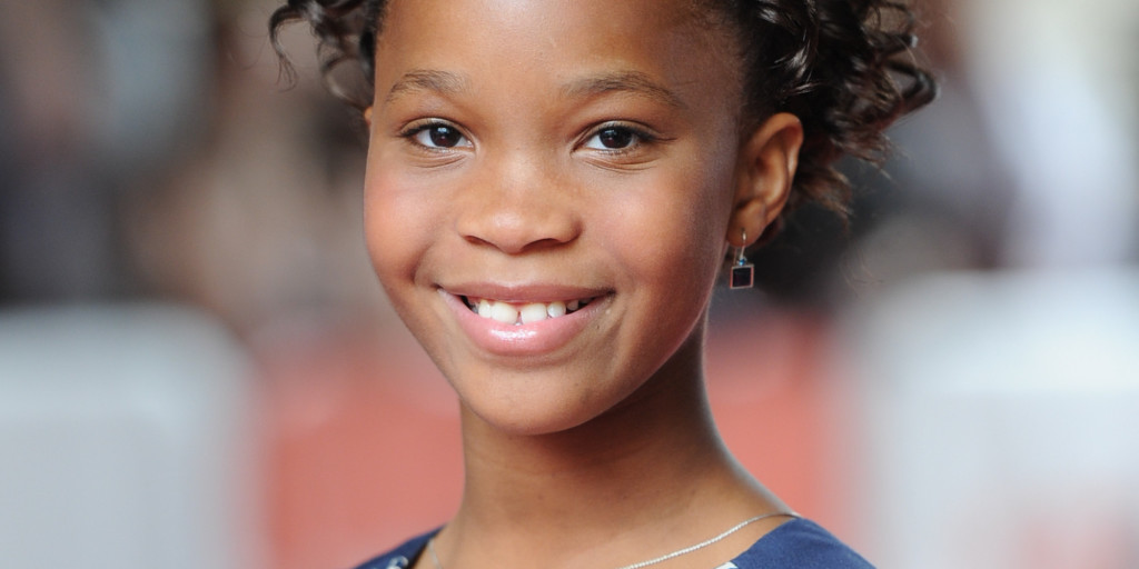 """Actress Quvenzhané Wallis attends the """"Kahlil Gibran's The Prophet"""" premiere during the Toronto International Film Festival on Saturday, Sept. 6, 2014, in Toronto. (Photo by Evan Agostini/Invision/AP)"""