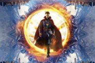 Doctor Stephen Strange auf dem Filmplakat