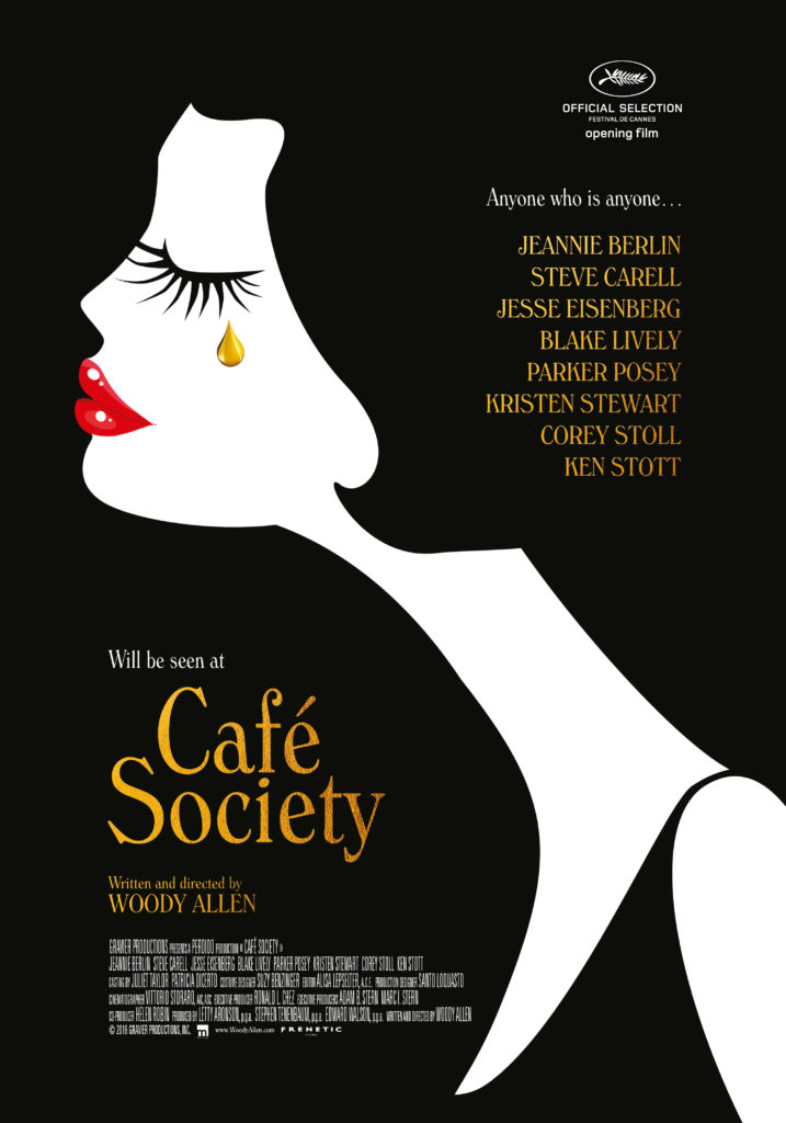 cafe society movieposter
