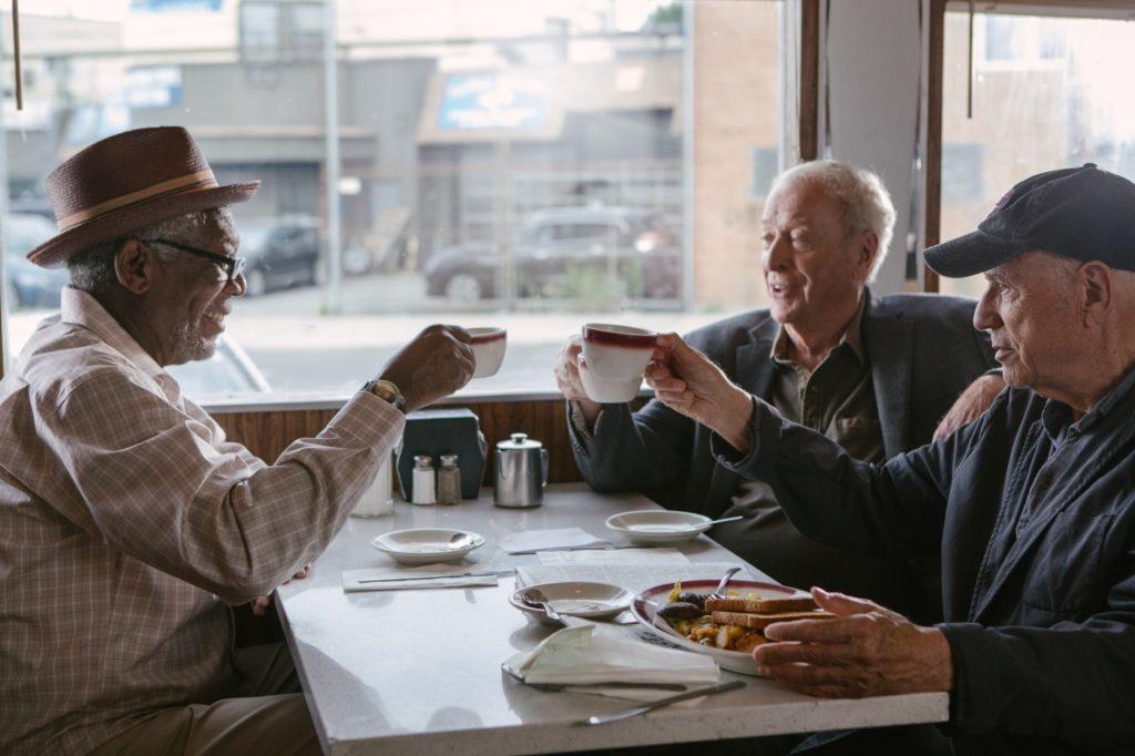 Ein Abgang mit Stil: Alan Arkin, Morgan Freeman und Michael Caine