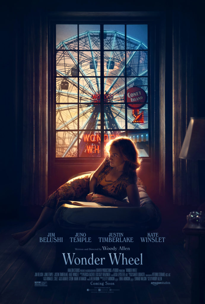 Wonder Wheel Woody Allen Movie Poster