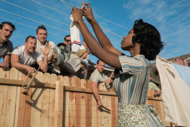 Blanker Rassismus in Suburbicon: Daisy Myers (Karimah Westbrook) lässt sich nichts anmerken.