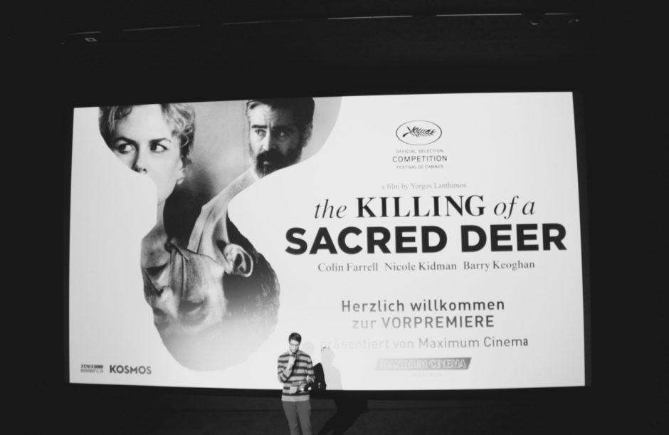 Impressionen der Vorpremiere von Yorgos Lanthimos' «The Killing Of A Sacred Deer» am 9.1. im Kosmos. Photos von Simon Kümin.