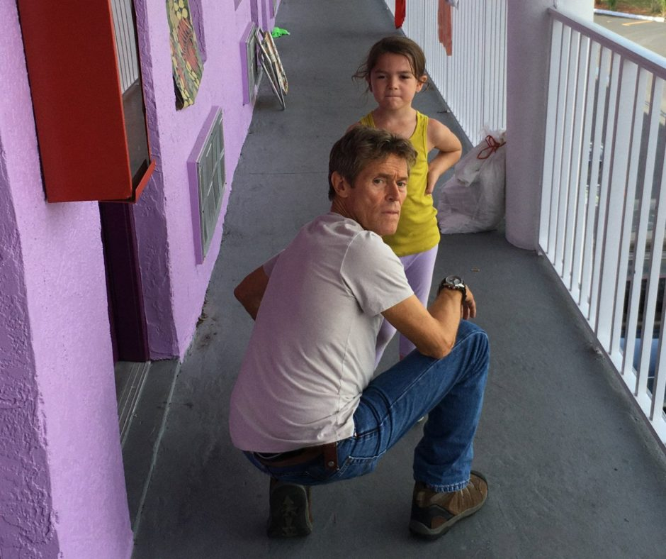 Willem Dafoe und Brooklynn Prince in «The Florida Project»