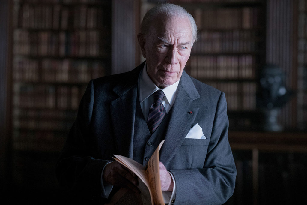 Christopher Plummer in «ALL THE MONEY IN THE WORLD.»