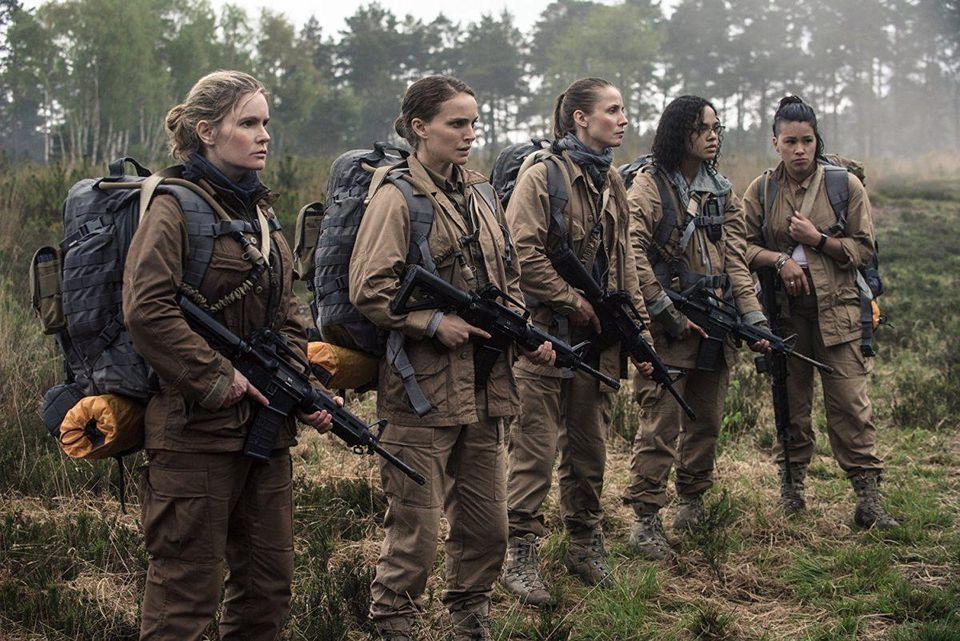 Annihilation_Jennifer Jason Leigh, Natalie Portman, Tuva Novotny, Tessa Thompson, Gina Rodriguez