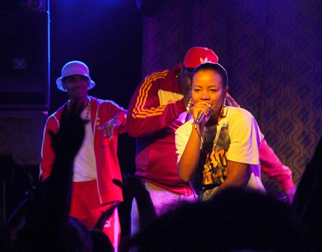 Roxanne Shanté Rap im Club