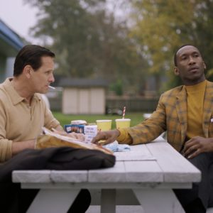 Green Book_Viggo Mortensen als Tony Lip und Mahershala Ali als Don Shirley auf Konzerttournee in den Südstaaten in den 1960er