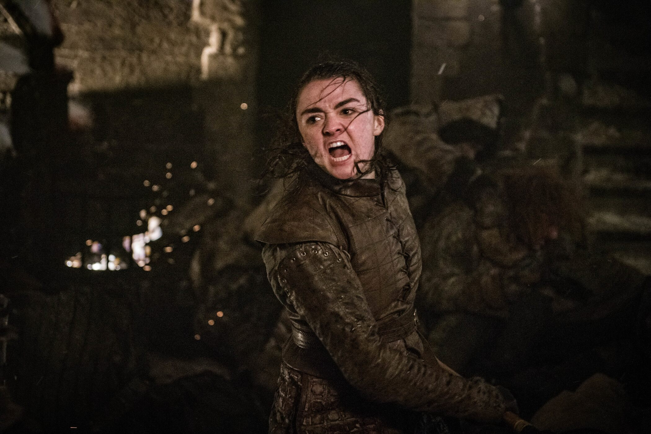 Game of Thrones_Arya stabs them with the pointy end