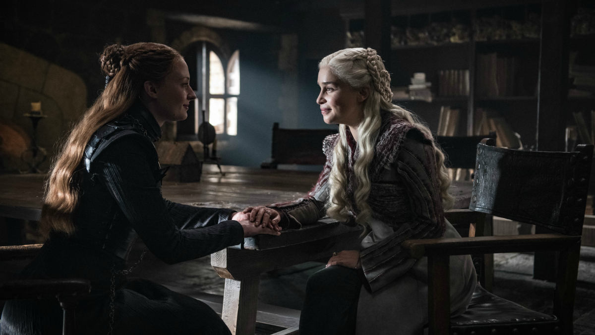 Game of Thrones_Sansa Stark und Daenerys Targaryen