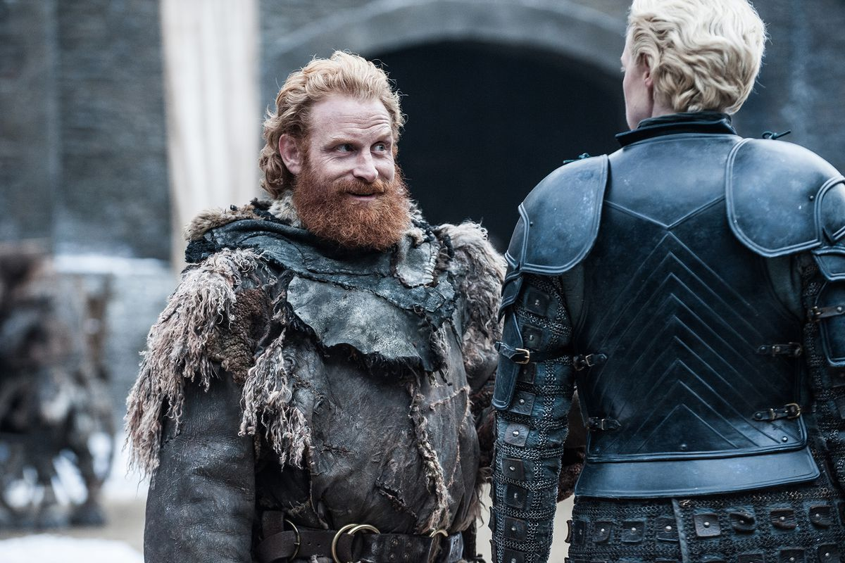 Game of Thrones_Tormund Giantsbane und Brienne of Tarth
